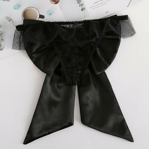 One Size Women Multi-Color Lace Underwear Ladies Bow Underwear G-String Gift
