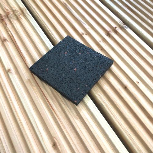 100 x antiscivolo tappeto terrazze sottoposto 60 x 60 x 3 mm terrassenpad Pad