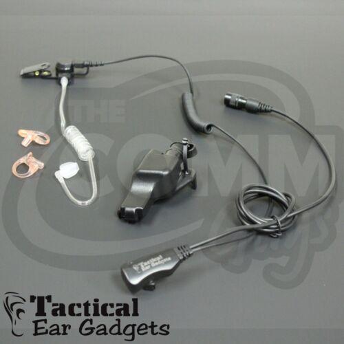 Police Earpiece Hawk Lapel Mic for Motorola XTS5000 MTX8000 MT2000 MTX9000 JEDI