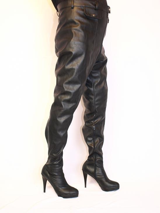 Pantalones-botas piel 40 sintética 37 38 39 40 piel 41 42 43 44 45 46 47 bolingier fs899 c5455f
