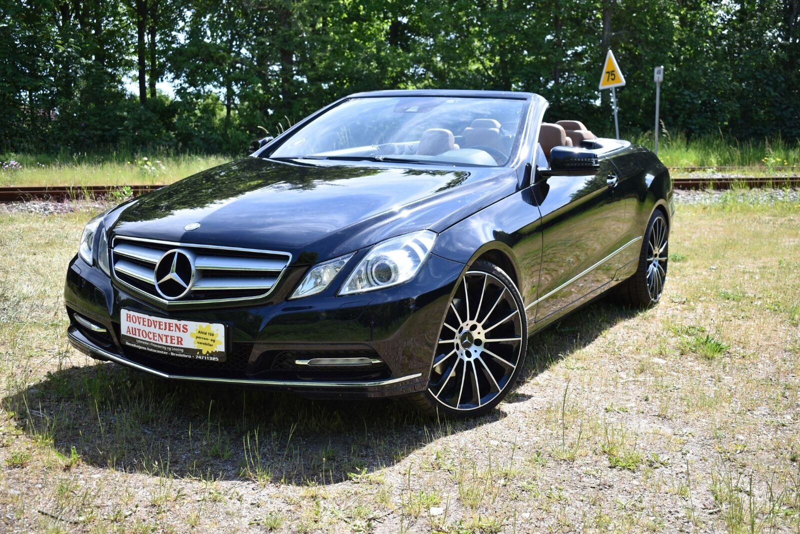 Mercedes E350 3,0 CDi Cabriolet aut. BE 2d - 409.900 kr.