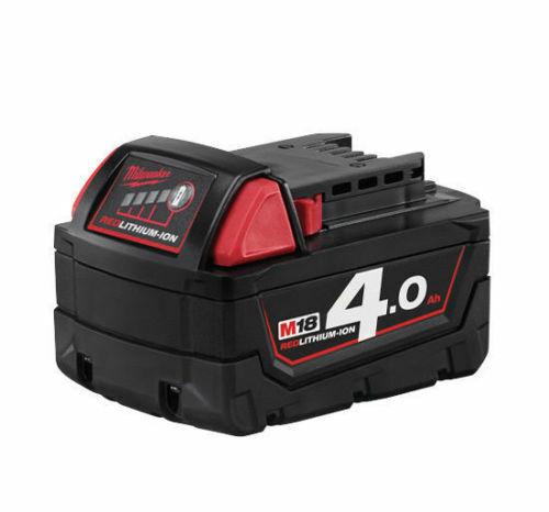 Milwaukee Batterie Lithium Original 18v 4,0 Ah Modell M18 B4