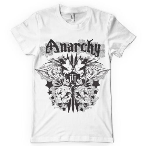 Anarchy Tee Shirt Mens Big and Tall Graphic T Shirt Pro Club Short Sleeve