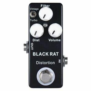 Mosky-Nero-RAT-Distortion-Mini-effetto-della-chitarra-del-pedale-S9O3