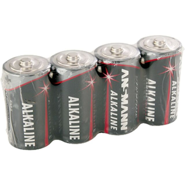 Ansmann Alkaline Red, Batterie