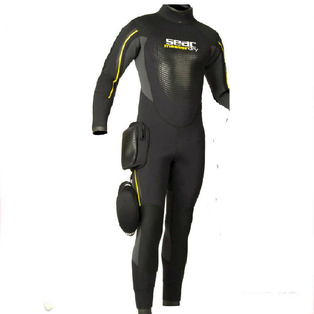 LO3 Seac Sub new 2019  Semy Dry Suit Masterdry Master Dry MAN size XXXXL LARGE
