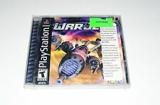 World Destruction League War Jetz PS1 Playstation 1 Game NEW FACTORY SEALED