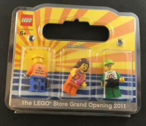 2011-LEGO-MISSION-VIEJO-CA-Grand-Opening-sealed-3-minifigures-RARE-NEW-155-500