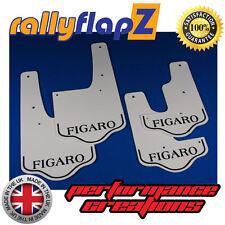 rallyflapZ NISSAN FIGARO (1991 on) recreated Mudflaps Mud Flaps White 4mm PVC