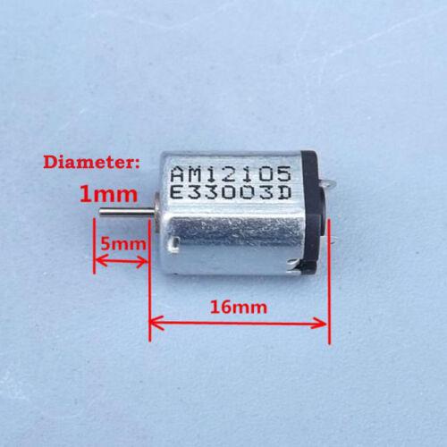 2PCS N20 DC 3.7V 30000RPM High Speed Micro 10mm DC Motor DIY RC Drone Aircraft