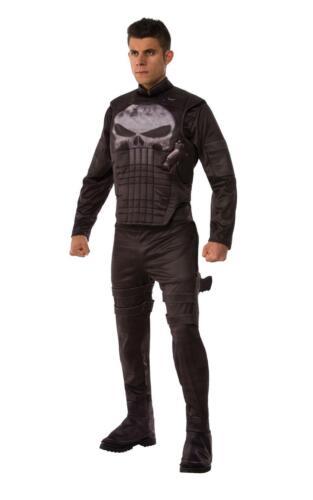 Punisher Mens Fancy Dress Marvel Superhero Costume