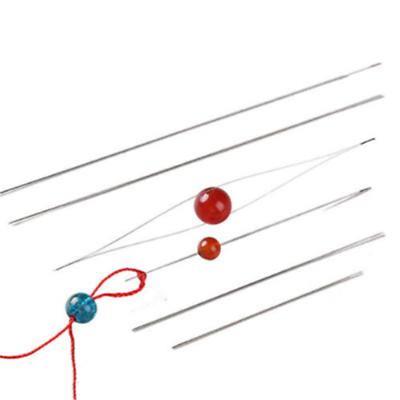 Wholesale 5PC Big Eye Curved Beading Needles Easy Thread Jewellery Craft DIY Set