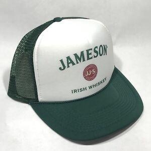 8905295f612 Image is loading Jameson-Irish-Whiskey-Trucker-Hat-Vintage-Snapback-Part-