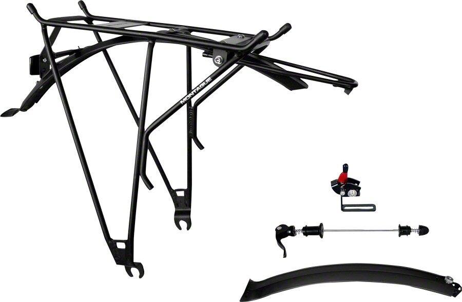 Montague Rackstand posterior montaje Multi-uso Rack, Negro