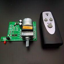 Remote control volume board / audio preamp microcomputer control volume board