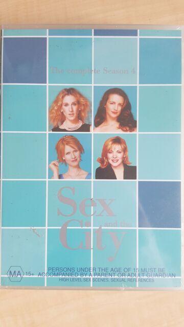 Sex And The City : Season 4 [3 DVD Set] NEW & SEALED, Region 4, FREE Post