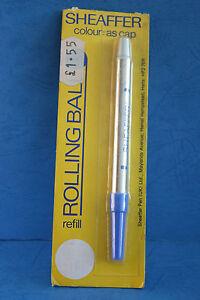 Vintage Sheaffer Rollingball Blue Refill - USA