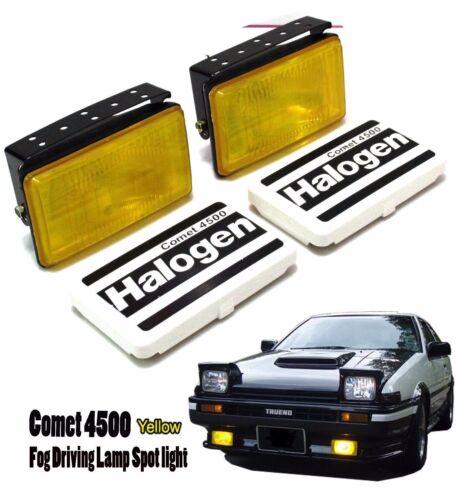Universal Fit All Car SUV Fog Spot Light Lamp 4x4 HALOGEN Adjustable AE86 Truneo