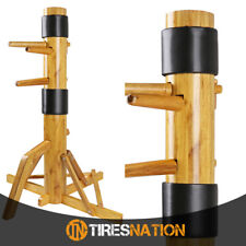 "Solid Wood Free Standing 65/"" Training Dummy Wing Chun Ip Man Martial Art Target"