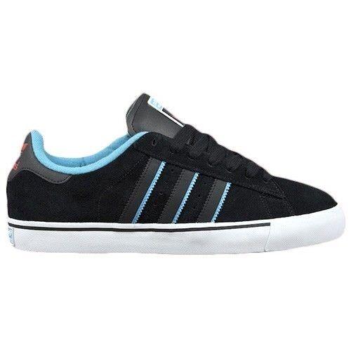 Adidas CAMPUS VULC Black Aqua Scarlet Discounted Skate Price reduction Men's Shoes Seasonal clearance sale