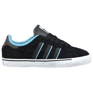 online store 03c90 56d6e Adidas-CAMPUS-VULC-Black-Aqua-Scarlet-Discounted-Skate-