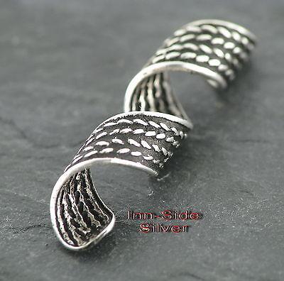 Bartschmuck Bartring Bartcreole Keltischer Style Gothic Feingehalt Silber 925