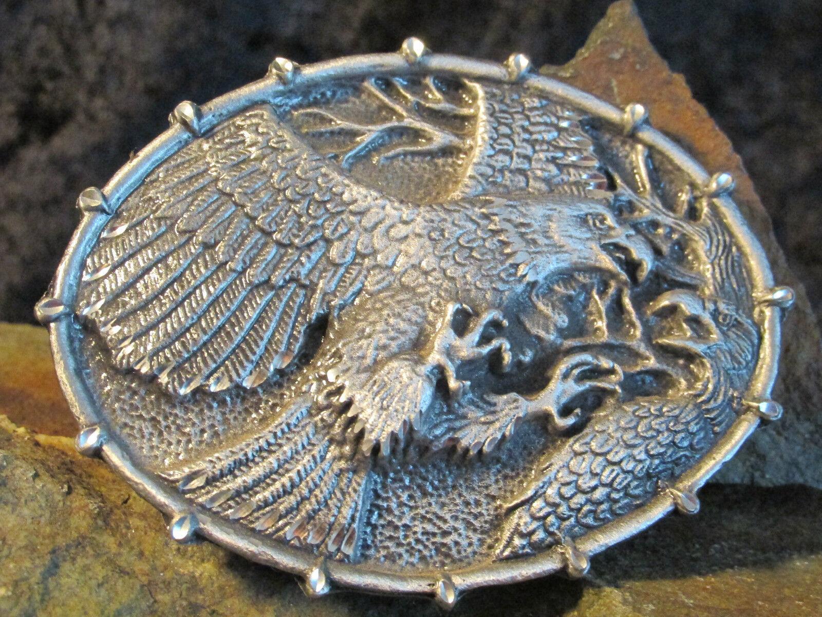 # 0279 Gürtelschnalle, Original Buckle, ETC USA, Adler, fighting eagle
