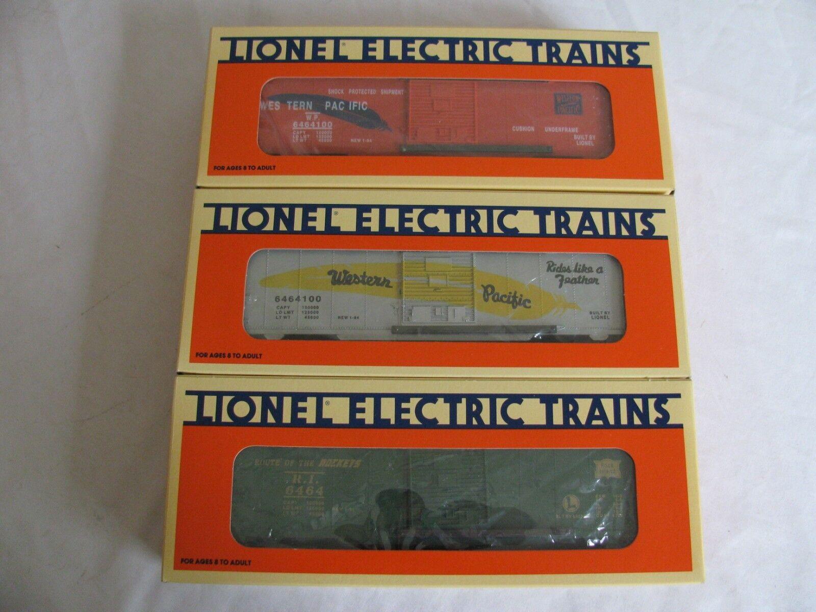 comprar nuevo barato Lionel Trains O O-27 escala escala escala 6464 CONJUNTO DE VAGONES SERIE II Pacífico occidental  6-19257  para barato