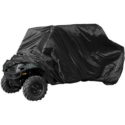 """Universal Deluxe Waterproof UTV Cover Black Fits Up To 118/"""" L"""