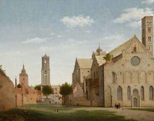 Olbilder-Olgemaelde-By-Pieter-Jansz-Saenredam-1597-1655-47x60cm