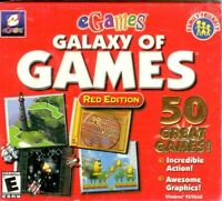Galaxy Of Games: Red Edition (pc, 2000) Windows 95/98