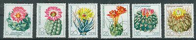 Trendmarkierung Ddr Briefmarken 1983 Kakteen Mi.nr.2802 Bis 2807** Postfrisch Duftendes Aroma