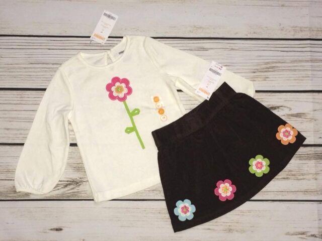 Carter/'s Baby /& Toddler Girl Corduroy Skirt /& Skirt Set Pink and Green