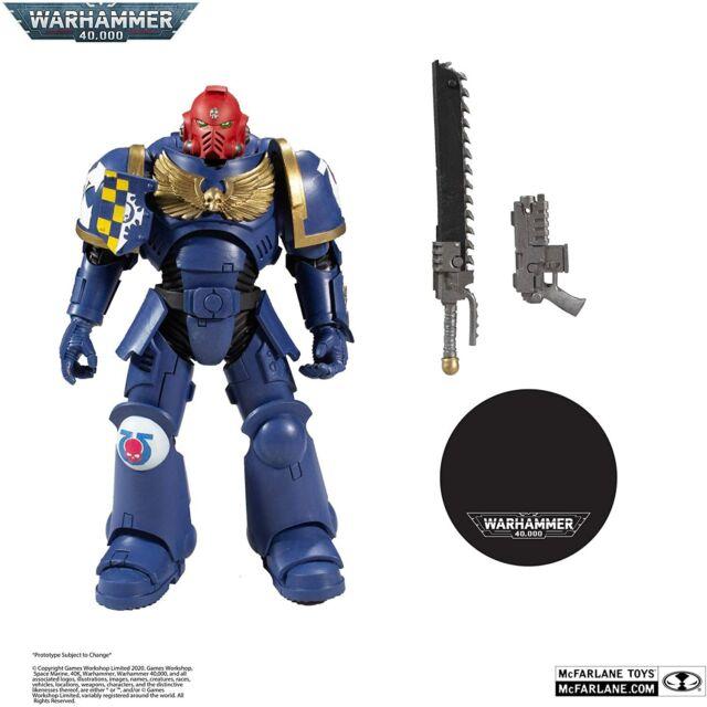 McFarlane Toys Warhammer 40,000 Ultramarines Primaris Assault Intercessor Figure