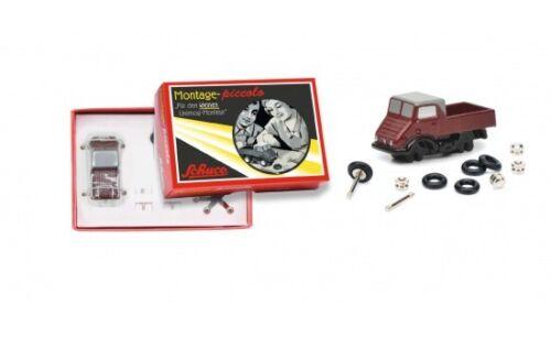#450559600 05596 - 1:90 Schuco piccoo montaje recuadro Unimog