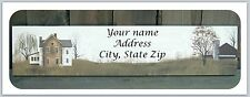 Personalized Return Address Labels Primitive Country Buy 3 get 1 free (c 798)