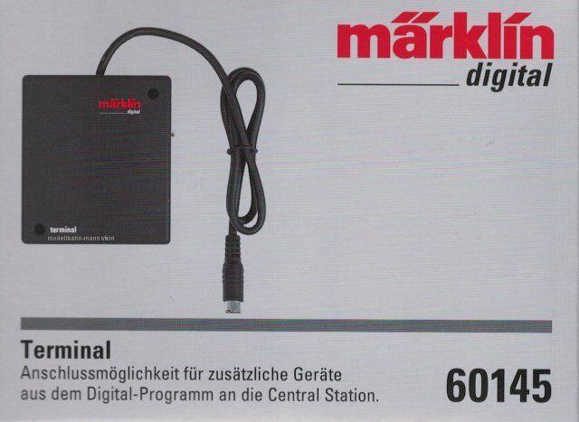 Märklin 60145 Terminal für Märklin Central Station CS 2,CS 3 plus, Neu OVP