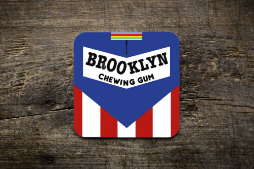 Brooklyn Chewing Gum Coaster Bike Ninja Cycling Retro Road