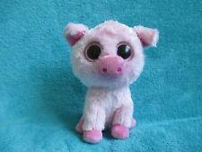 2011 Ty Beanie Boos - Corky The Pink Pig Soft Plush Cuddly Toy 6