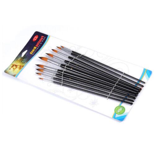 Art Brushes Set Nylon Hair Artiste Acrylic for Oil Watercolor Paint Brush OIP