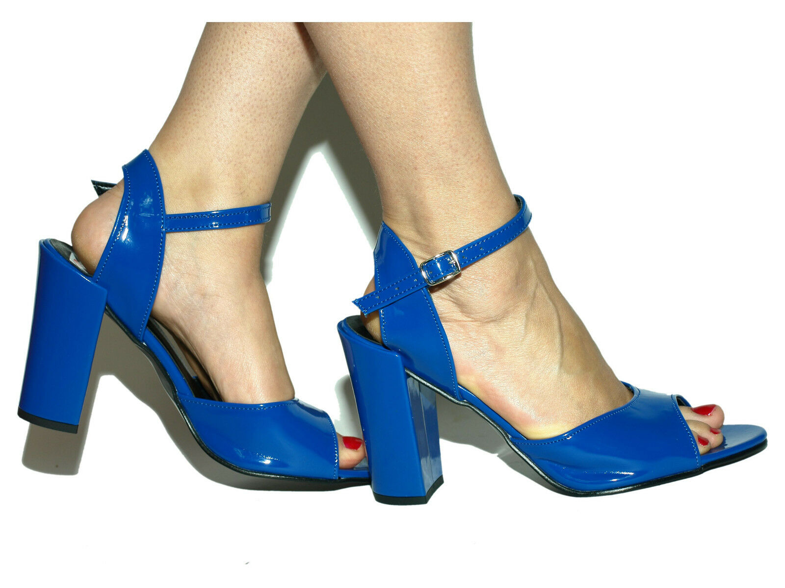 Promotion   Pumps sandalen blue 37 38 39 40 41 42 43 44 45 46 47  Poland