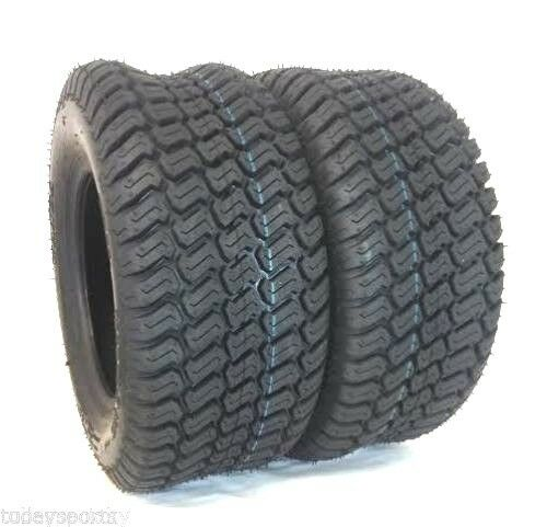 TWO NEW 23 10.50x12 TURF LAWN TRACTOR MOWER TIRES 23 10.50 12