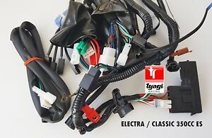 royal enfield electra classic 350cc es complete wiring harness rh ebay co uk royal enfield wiring harness price royal enfield thunderbird wiring harness