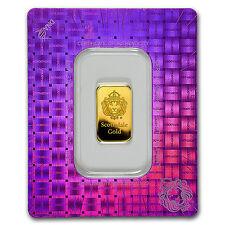 5 gram Gold Bar - Scottsdale Mint (In Certi-Lock® Assay) - SKU #97647
