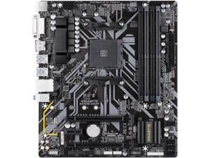 GIGABYTE-B450M-DS3H-AM4-AMD-B450-SATA-6Gb-s-USB-3-1-HDMI-Micro-ATX-AMD-Motherboa