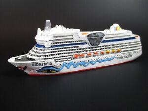 Modelo-de-Barco-Crucero-Aidastella-Aida-12-5-CM-Polyresin-Cruise-Ship-Nuevo