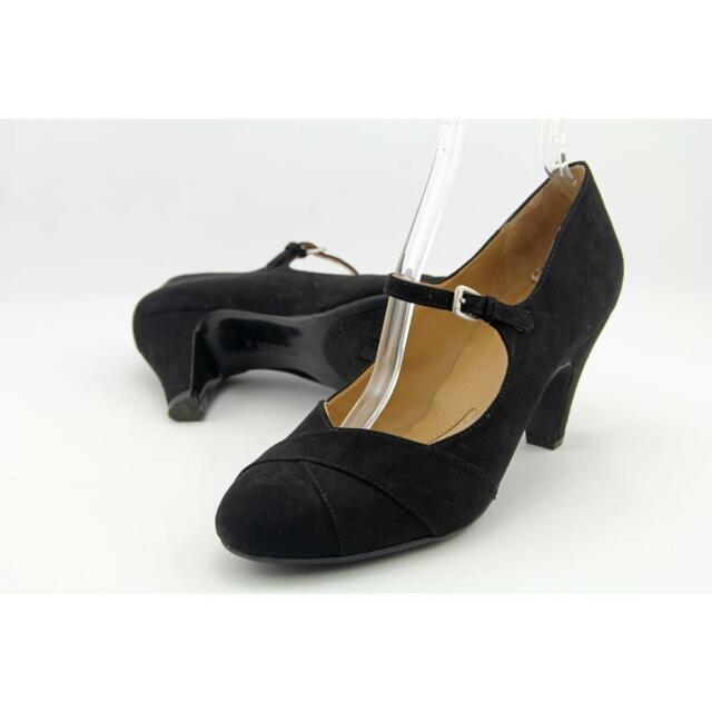 Naturalizer Layton Women US 10 Black Mary Janes Pre Owned  1059
