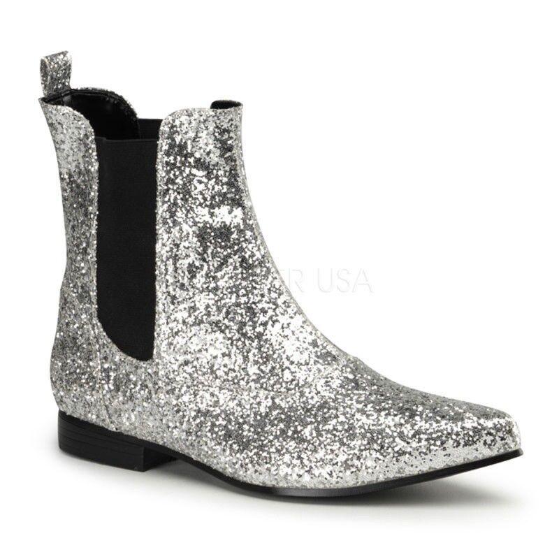 FUNTASMA botas botas botas CHELSEA 58 G plata 5354c7