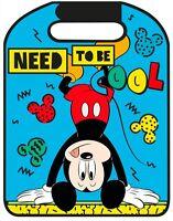 Disney Mickey Mouse Auto Rückenlehnenschoner / Schützt Vor Schmutz Neu