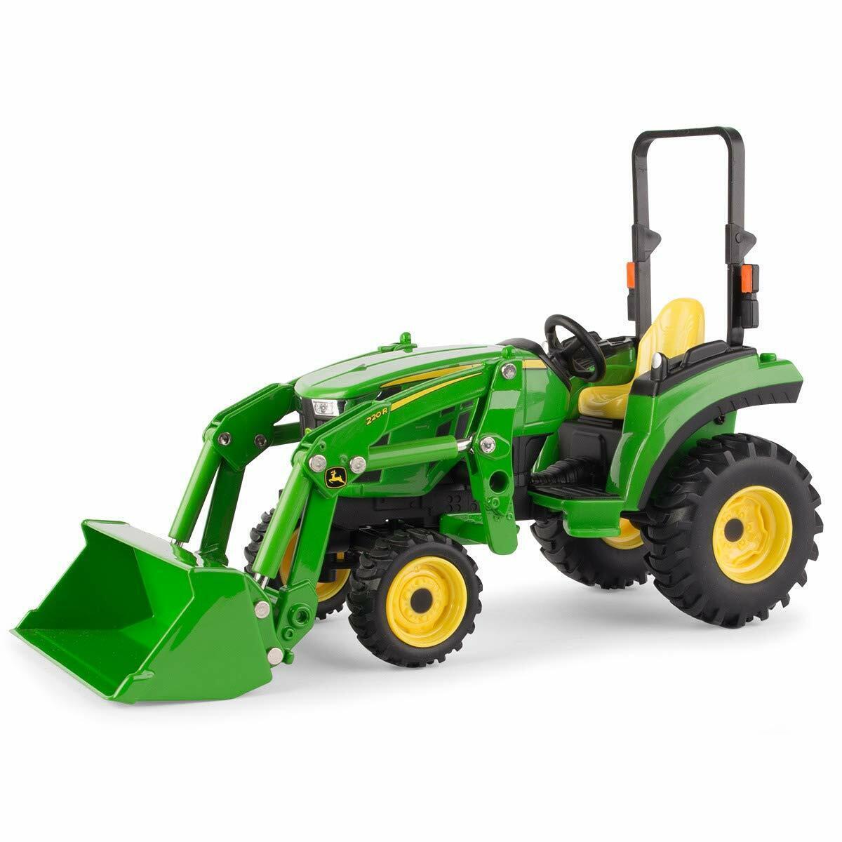 Neu John Deere 2038R Kompakt Traktor mit Lader, 1 16 Maßstab, Alter 3+ LP70531